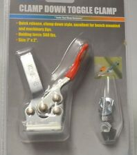 "Grip - Clamp Down Toggle Clamp 7"" x 2"" Holding force :500 lbs."