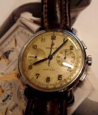1951 VINTAGE BREITLING CRONOGRAFO VENUS CAL 188 CALCIO Dial (RARA)