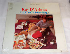 Ray D'Ariano: Are You On Something?  [Still Sealed Copy]