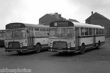 Hartlepool Borough Transport No.77 & 91 Depot Yard Bus Photo