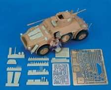 Royal Model 1/35 Autoblinda 41 (AB 41) Italian Armored Car Update (Italeri) 463