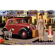 Italian Light Civilian Car (Hard Top) with Lady & Dog  -BRONCO MODELS-1:35-3