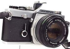OLYMPUS OM-1 N Camera With Olympus F.Zuiko 50mm f/1.8 Camera Lens - A23