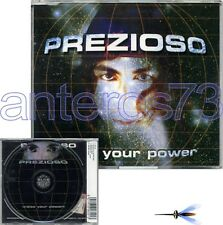 "PREZIOSO ""RAISE YOUR POWER"" RARE CDM 1997 ITALO DANCE"