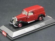 Schuco Mercedes-Benz 170 V Kastenwagen 1:43 Dark Red / Black (JS)