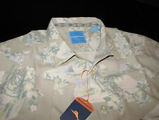 Tommy Bahama Camp Shirt Lazy Luau Continental 100% Silk New Large L T313820