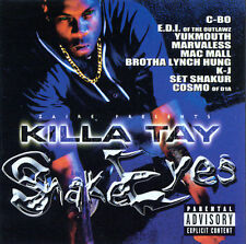 Marvaless, C-Bo, Mac Mall, Killa: Snake Eyes Explicit Lyrics Audio Cassette