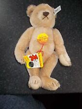 "STEIFF ORIGINAL 10"" TEDDY JOINTED BEAR WITH TAGS 0173/25"