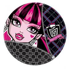 Monster High Birthday Party Dinner Plates x 8