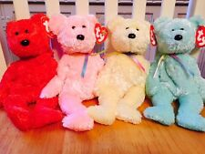 Ty Beanie Babies, Sherbet x 3 And Sizzle