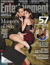 "Entertainment Weekly Magazine #1315 June 13th 2014  - ""Masters of Sex"" Cover"