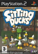 SITTING DUCKS for Playstation 2 PS2 - with box & manual - PAL