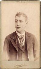 CDV photo Herrenportrait - Wien um 1890