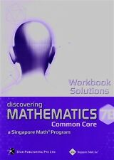 Singapore Discovering Math Workbook Solutions 7B - FREE Expedited Upgrade W $45