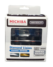 Michiba HIR2 (9012) 12v 55w 5000K Blue Diamond Vision Bulbs (White)