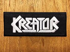 Kreator Sew On Patch Iron Embroidered Rock Band Heavy Metal Music Logo