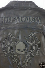 Harley Davidson Men's Reflective Blade Swithchback Leather Jacket M 97071-09VM