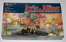 1987 Axis & Allies Milton Bradley Gamester Series Game 100% Complete 2nd ed.