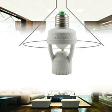 AC 220V 60W PIR Induction Motion Sensor IR infrared E27 Plug Socket Bulb Holder