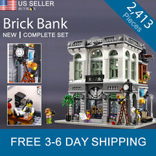 Brick Bank Compatible with LEGO 10251 Modular Building - Creator Set