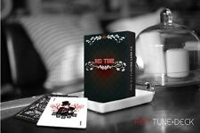 CARTE DA GIOCO RED TUNE,poker size limited edition