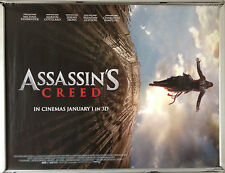 Cinema Poster: ASSASSIN'S CREED 2017 (Advance Quad) Michael Fassbender