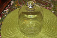Waterford Illuminology Glass Cloche Bell Jar-Luma Champagne-Waterford Marked