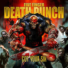 Five Finger Death Punch - Got Your Six - New Deluxe CD Album
