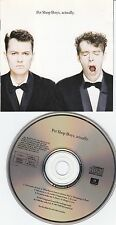 Pet Shop Boys - Actually RARE Club Edition 17697-4 Top-Zustand RARE
