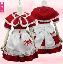 LOL League of Legends Annie Little Red Uniform Riding hood Cosplay Dress Costume
