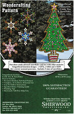 Gingerbread Candy Christmas Tree Yard Art Woodworking Plans - Sherwood Creations