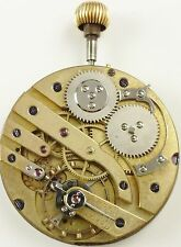 Swiss  Pocket Watch Movement - High Grade - Spare Parts / Repair