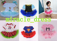 Baby Toddler romper fancy Princess Dresses Halloween Costume Christmas Outfit