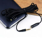 1* 4.9ft 3.5mm Female to Male F/M Headphone Stereo Audio Extension Cable Cord