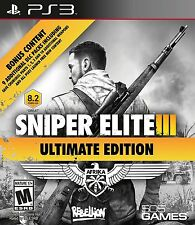 *NEW* Sniper Elite III Ultimate Edition - PS3