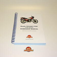 Honda CBX400F CBX550F Factory Workshop Shop Manual Book. Reproduction. HWM048