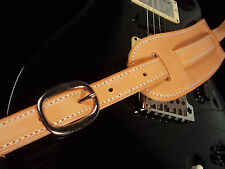 EL DORADO LEATHER GUITAR STRAP - CLASSIC - BROWN, BLACK OR TAN - ANY SIZE - NEW!
