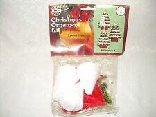 Vintage HOLIDAY Christmas ornament kit #3452 STARRY TREE 1978 makes 3 NIP
