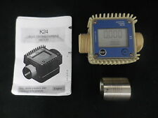 DIESEL FUEL BIO FUEL ADBLUE OIL PETROL ETC SMALL DIGITAL FLOW METER