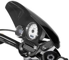 National Cycle Gladiator Windshield, Wrinkle Black - Dark - H/D 883L/N, 1200N -