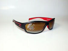 Vuarnet Sunglasses VL/1230 CX4400 CONTRAST LENS BLACK RED SPORTS WRAP *NEW*