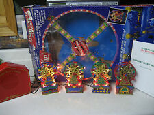 1994 Mr Christmas Holiday 4 Ferris Wheel 20 Songs Lighted Musical Turning 5401