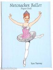 Vintage NEW 1997 Nutcracker Ballet Paper Dolls (Tom Tierney) Dover Book