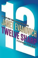 TWELVE 12 SHARP, JANET EVANOVICH, HARD COVER