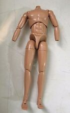 "2001 Merit 1/6 Scale 12"" White Caucasian Male Nude Body Action Figure"