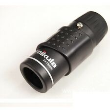 1000M Distance Nikula Mini Adjustable Focus Monocular Telescopes W/Blue Lens