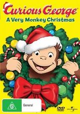 Curious George: A Very Monkey Christmas DVD