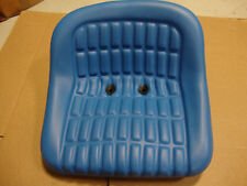 NEW FORD TRACTOR SEAT BLUE VINYL 340A 540B 2000 2600 2610 3000 3600 3610 4000
