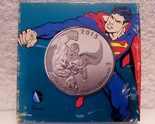 2015 Royal Canadian Mint DC Comics Superman 7.96g Fine Silver Coin $20 Canadian