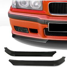 Pair of Front Bumper Chin Splitter Spoilers Lip Corner BMW 3 Series E36 EAP